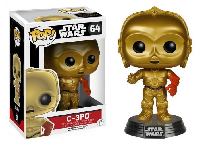 """Pop! Фигурка дроида C-3PO из фильма """"Звёздные войны 7"""""""