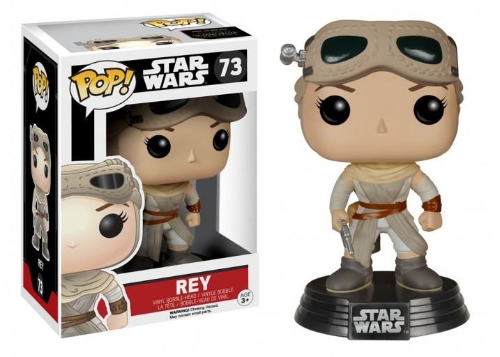 """Pop! Фигурка Рей с защитными очками из фильма """"Звёздные войны"""""""
