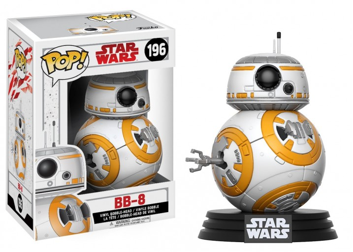 """Pop! Фигурка дроида BB-8 из фильма """"Звёздные войны 8"""""""