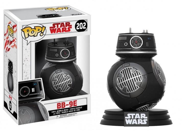 """Pop! Фигурка дроида BB-9E из фильма """"Звёздные войны 8"""""""
