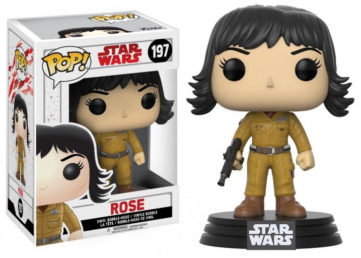 """Pop! Фигурка Роуз из фильма """"Звёздные войны 8"""""""