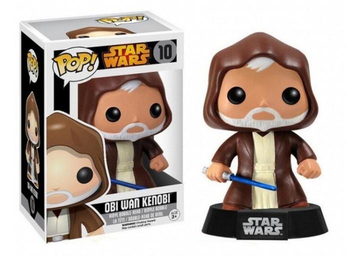 """Pop! Фигурка старого Оби-Вана Кеноби из фильма """"Звёздные войны"""""""