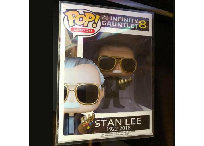 Pop! Фигурка Стэна Ли с перчаткой бесконечности