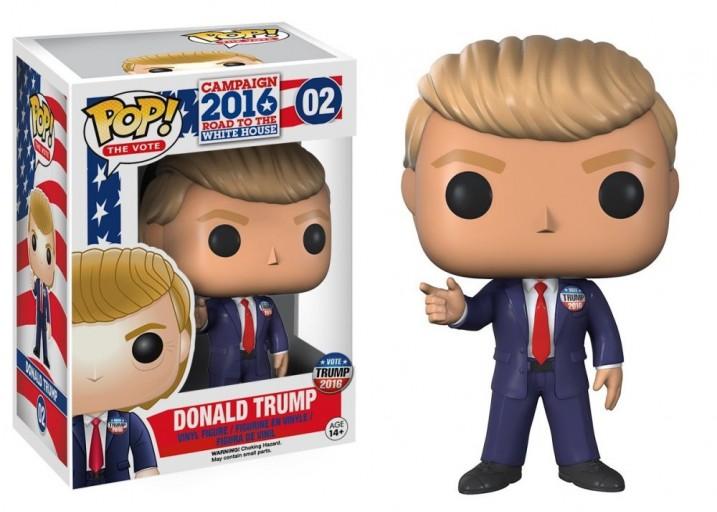 Pop! Фигурка Дональда Трампа, президента США