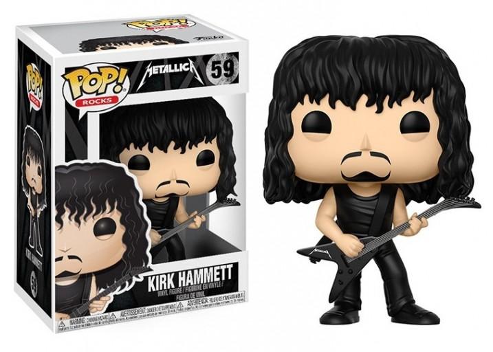 """Pop! Фигурка Кирка Хэммета из группы """"Metallica"""""""