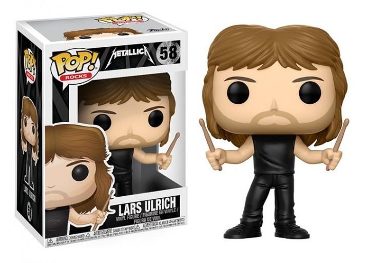 """Pop! Фигурка Ларса Ульриха из группы """"Metallica"""""""