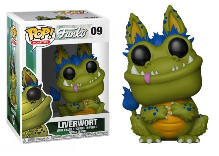 """Pop! Фигурка Ливерворта из серии """"Monsters"""""""