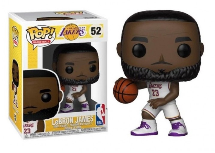 Pop! Фигурка Леброна Джеймса - баскетболиста NBA