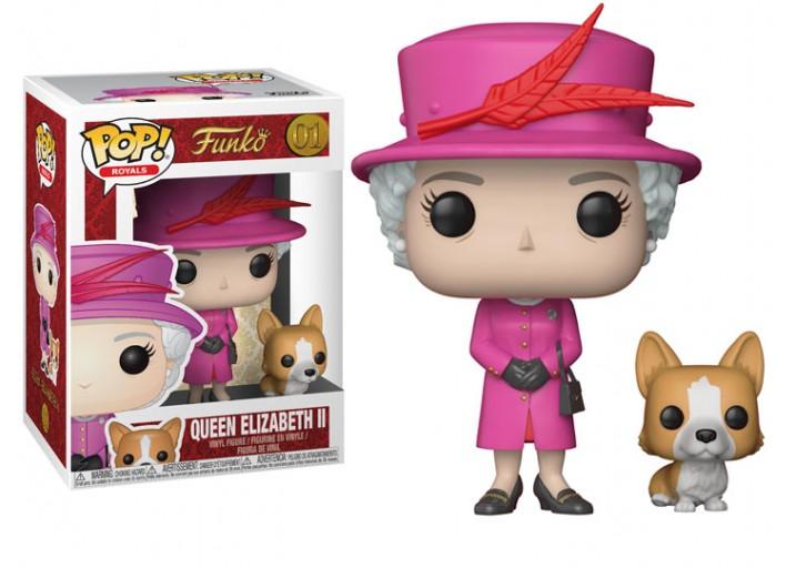 Pop! Фигурка королевы Елизаветы II в розовом