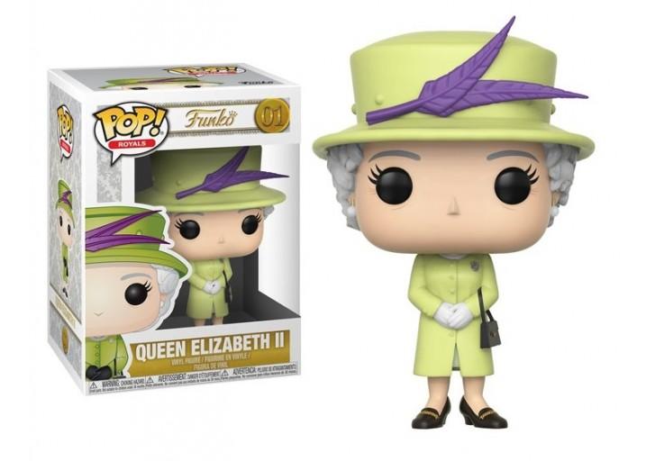 Pop! Фигурка королевы Елизаветы II в зелёном