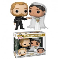 Pop! Фигурки принца Гарри и Меган Маркл на свадьбе