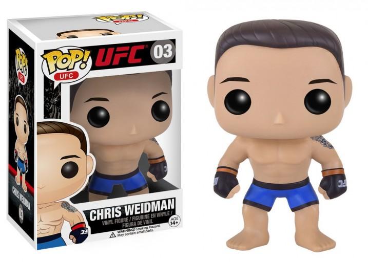 Pop! Фигурка Криса Вайдмана - бойца UFC