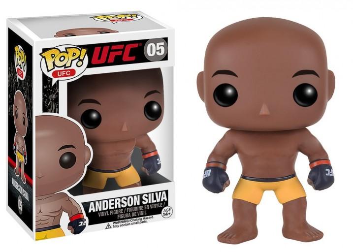 Pop! Фигурка Андерсона Сильвы - бойца UFC