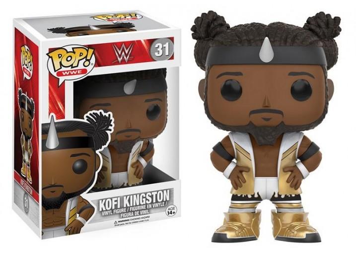 Pop! Фигурка Кофи Кингстона - рестлера WWE