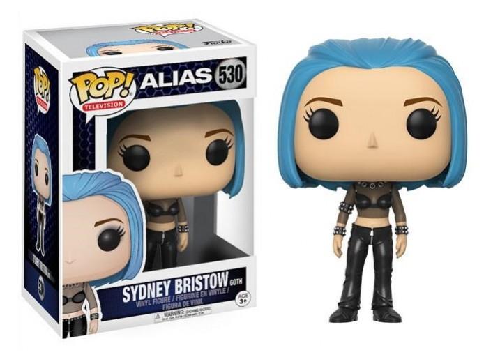 """Pop! Фигурка Сидни в голубом парике из сериала """"Шпионка"""""""