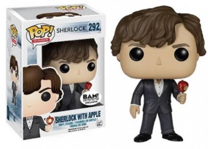 """Pop! Фигурка Шерлока с яблоком из сериала """"Шерлок"""""""