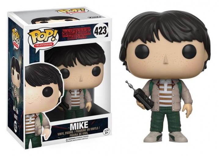 """Pop! Фигурка Майка с рацией из сериала """"Очень странные дела"""""""